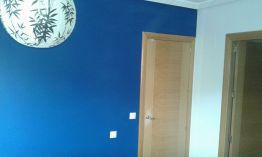 Dormitorio Sideral S-500 Blanco roto y Esmalte Pymacril Azul Oscuro (10)