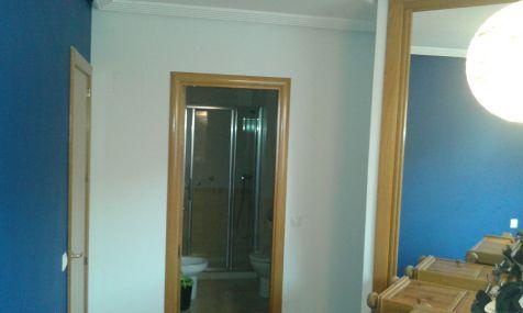 Dormitorio Sideral S-500 Blanco roto y Esmalte Pymacril Azul Oscuro (7)