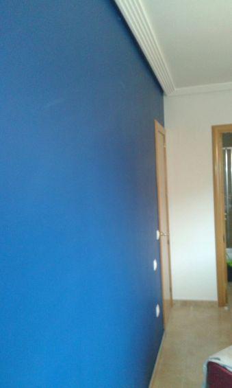 Dormitorio Sideral S-500 Blanco roto y Esmalte Pymacril Azul Oscuro (8)