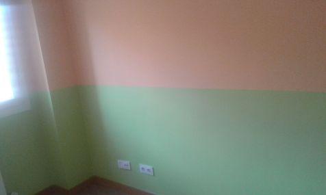 Habitacion Infantil Plastico Sideral Naranja y Esmalte Valacryl color verde (8)