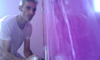 Abrillantando Estuco Marmoleado Violeta (2)