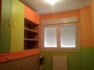 Habitacion Infantil Plastico Sideral Naranja y Esmalte Valacryl color verde con mueble (7)