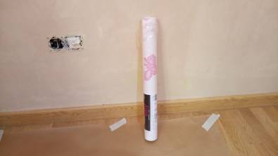 Plastico Rosa y Papel Pintado Mariposas (20)