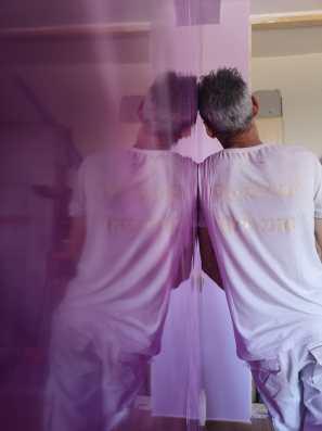 Reflejos Sobre Estuco Marmoleado Violeta (6)