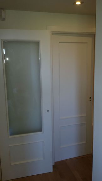 Lacado de puertas Ral 1013 en Barrio de las Mercedes (19)
