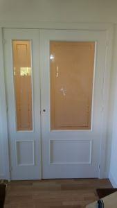 Lacado de puertas Ral 1013 en Barrio de las Mercedes (6)