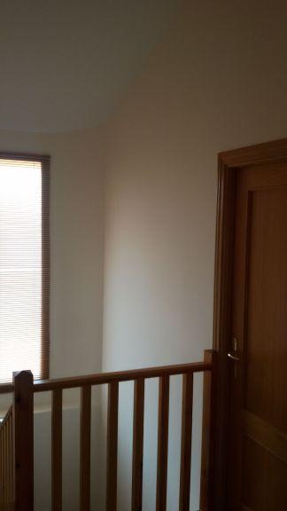 Entrada y Escaleras Plastico Liso Afinado con sideral S-500 Color Beige - Terminado (29)