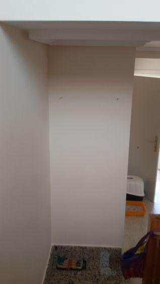 Entrada y Escaleras Plastico Liso Afinado con sideral S-500 Color Beige - Terminado (35)