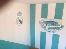 Estuco Veneciano Real Madrid con vinilos terminado (mañana) (38)