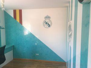 Estuco Veneciano Real Madrid con vinilos terminado (mañana) (56)