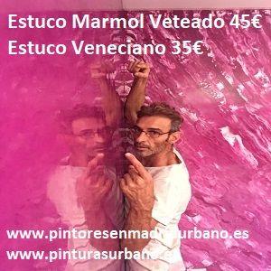 Oferta Estuco Veneciano + Estuco Marmol Vetado con cera