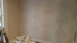 Salón papel pintado barroco (3)