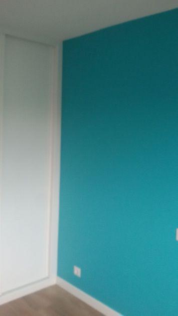 Color turquesa claro S-0505-B50G y un paño oscuro de esmalte pymacril turquesa S-1050-B50G Terminado (6)