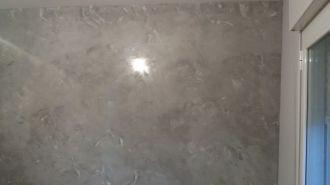 Estuco Veneciano gris y banco con cera alex (3)