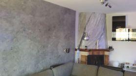 estuco marmoleado a 3 colores en chimenea con cera alex - Decoracion (2)