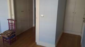 Esmalte Valacryl color azul grisacio en dormitorio (4)