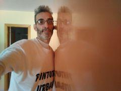 Estuco Veneciano Espatuleado con Vetado Color Naranja (8)