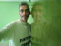 Estuco Veneciano Espatuleado con Veteado color Verde (2)
