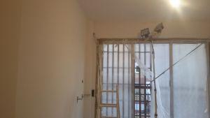 Lijado de techos con lijadora con extracción de polvo (3)