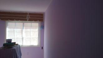1 mano de plastico sideral color malva en paredes (2)