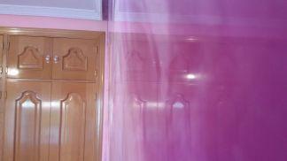 Estuco Marmol a 3 colores Violeta con cera (23)