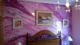 Estuco Marmoleado a 3 colores Violeta - Decoracion (1)