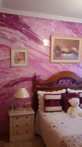 Estuco Marmoleado a 3 colores Violeta - Decoracion (5)