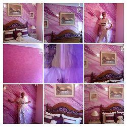 Icono Estuco Marmol a 3 colores Violeta