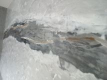 Estuco Efecto Marmol Negro, Gris, Crema, Marron y Oro Metalizado (1)