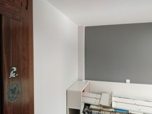 Habitacion 2 Plastico color gris claro y esmalte gris oscuro (2)