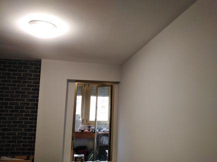 Habitacion Papel pintado labrillo y plastico sideral color gris (2)