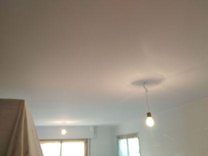 Replastecido - Lijado - Aplica 2 mano de plastico sideral s-500 blanco en techos (6)