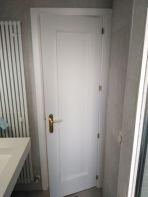 Lacado de Puertas en blanco en Valdelagua (3)
