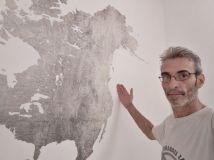 Colocacion de papel pintado mapa mundial (16)