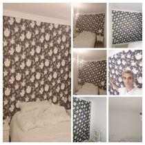 Dormitorio Colocacion Papel Pintado - COLLAGE