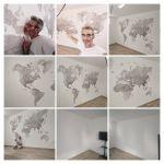 Mapa Mundial - COLLAGE