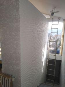 Ladrillo en esmalte al agua blanco 5