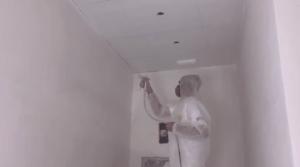 imprimacion al agua en paredes con airless