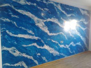 Estuco Marmol El Viso Vilalbilla Azul Pinturas Urbano 1
