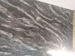 Estuco Marmol Negro Con Cera 15