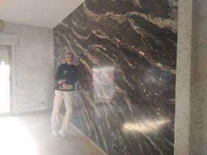Estuco Usera Marmol Negro Pinturas Urbano 9