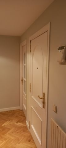 Lacado de puertas blanco y plastico liso gris con veloglas (20)