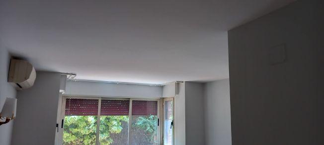 Lacado de puertas blanco y plastico liso gris con veloglas (26)