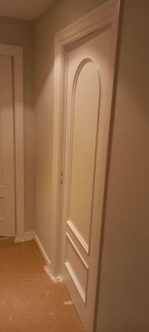 Lacado de puertas blanco y plastico liso gris con veloglas (30)