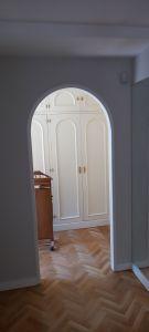 Lacado de puertas blanco y plastico liso gris con veloglas (34)