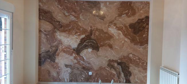 Estuco Marmol Piedra Marron 5 colores (2)