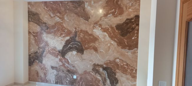 Estuco Marmol Piedra Marron 5 colores (3)