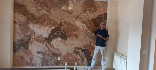 Estuco Marmol Piedra Marron 5 colores (7)