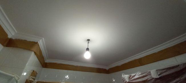 Lijado de replastecidos y 2 mano de plastico sideral s-500 en techos (10)