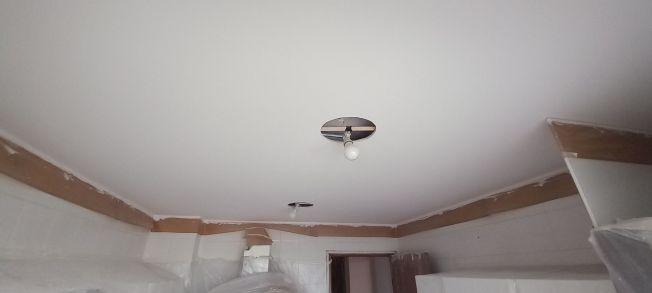 Lijado de replastecidos y 2 mano de plastico sideral s-500 en techos (3)